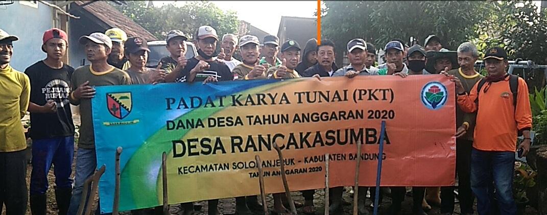 Desa Rancakasumba Laksanakan Padat Karya Tunai Dana Desa ...